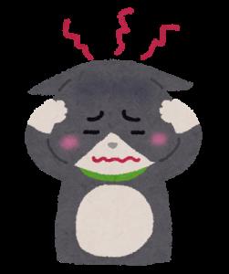 頭痛の猫ニャンタ