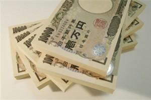 一万円札の束butiful