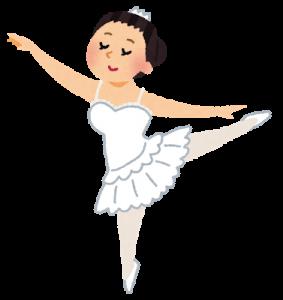 クラシックバレエ(三大バレエ)バレリーナ