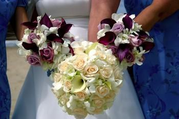 フラワーアレンジメント結婚式